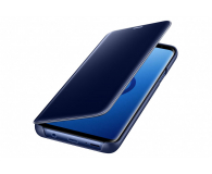 Samsung Clear View Standing Cover do Galaxy S9+ Blue - 405925 - zdjęcie 1