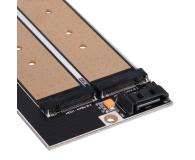 SilverStone PCIe x4 - 2xM.2 - 406456 - zdjęcie 9