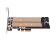 SilverStone PCIe x4 - 2xM.2 - 406456 - zdjęcie 5