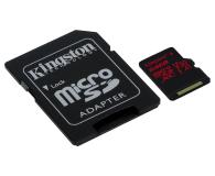 Kingston 64GB microSDXC Canvas React 100MB/s UHS-I V30 A1 - 415520 - zdjęcie 3