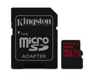 Kingston 32GB microSDHC Canvas React 100MB/s UHS-I V30 A1 - 415518 - zdjęcie 2