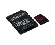 Kingston 32GB microSDHC Canvas React 100MB/s UHS-I V30 A1 - 415518 - zdjęcie 3