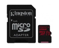 Kingston 128GB microSDXC Canvas React 100MB/s UHS-I V30 A1 - 415521 - zdjęcie 2