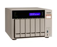 QNAP TVS-673e-4G(6xHDD, 4x2.1-3.4GHz, 4GB,4xUSB,4xLAN) - 416900 - zdjęcie 1