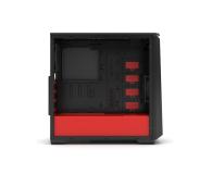 Phanteks Eclipse P400S Tempered Glass (czarny/czerwony) - 411811 - zdjęcie 7