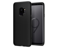 Spigen Liquid Crystal do Galaxy S9 Matte Black - 417813 - zdjęcie 1