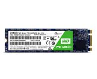 WD 240GB M.2 SATA SSD Green - 417506 - zdjęcie 1