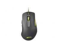 Xtrfy M1 (czarna, Yellow LED, 4000dpi) - 416669 - zdjęcie 1
