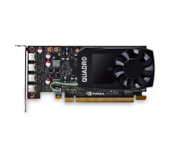 PNY Quadro P1000 DVI 4GB GDDR5 - 421022 - zdjęcie 2