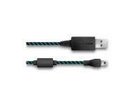 Lioncast micro USB do USB 2.0 4m (czarno-niebieski) - 421416 - zdjęcie 2