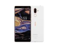 Nokia 7 Plus Dual SIM biało-miedziany  - 424505 - zdjęcie 1