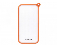 ADATA Power Bank D8000 2.1A LED pomarańczowy - 424720 - zdjęcie 2