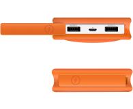 ADATA Power Bank D8000 2.1A LED pomarańczowy - 424720 - zdjęcie 4