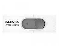 ADATA 64GB UV220 biało-szary  - 425750 - zdjęcie 1