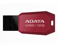 ADATA 32GB DashDrive Value UV100 czerwony - 240315 - zdjęcie 1