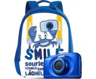Nikon Coolpix W100 niebieski + plecak  - 426238 - zdjęcie 7