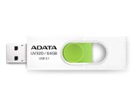 ADATA 64GB UV320 biało-zielony  - 425786 - zdjęcie 1