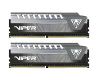 Patriot 8GB(2x4GB) 2666MHz CL16 Viper Elite Grey - 427698 - zdjęcie 1