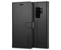 Spigen Wallet S do Galaxy S9+ Black  - 424914 - zdjęcie 1