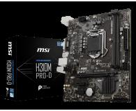 MSI H310M PRO-D - 422512 - zdjęcie 1