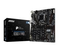 MSI B360-F PRO - 422532 - zdjęcie 1