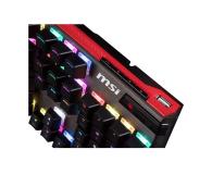 MSI Vigor GK80 (Cherry MX SILVER SPEED - RGB) - 420110 - zdjęcie 3