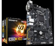 Gigabyte B360M HD3 - 421058 - zdjęcie 1