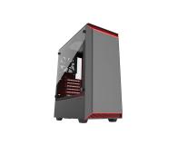 Phanteks Eclipse P300 Tempered Glass czerwony/czarny - 428337 - zdjęcie 1
