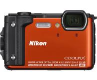 Nikon Coolpix W300 pomarańczowy Holiday Kit  - 427220 - zdjęcie 2