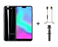 Honor 10 LTE Dual SIM 64 GB czarny + Dodatki - 432593 - zdjęcie 1