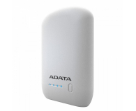 ADATA Power Bank P10050 10050 mAh 2.4A (biały) - 426255 - zdjęcie 3