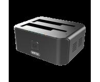 Unitek Stacja dokująca 2 x HDD USB 3.0 z klonowaniem - 434810 - zdjęcie 1