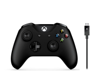 Microsoft Pad XBOX One Wireless Controller + kabel PC - 364449 - zdjęcie 1