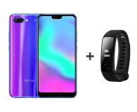 Honor 10 LTE Dual SIM 128 GB niebieski + Smartband - 436645 - zdjęcie 1