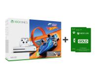 Microsoft Xbox One S 500GB Forza H3+Hot Wheels+ GOLD 6M - 384295 - zdjęcie 1