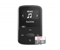 SanDisk Clip Jam 8GB czarny + 16GB microSDHC Ultra - 435011 - zdjęcie 1