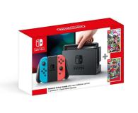 Nintendo Switch Neon + Splatoon 2 + Mario Odyssey - 420744 - zdjęcie 1