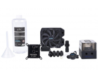 Alphacool Eissturm Gaming Copper 30 1x120mm - complete kit - 422857 - zdjęcie 1