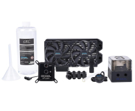 Alphacool Eissturm Gaming Copper 30 2x120mm - complete kit - 422854 - zdjęcie 1