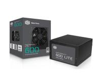Cooler Master Masterwatt Lite 600W 80 Plus - 437900 - zdjęcie 1
