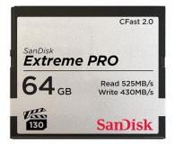 SanDisk 64GB Extreme PRO CFAST 2.0 525MB/s VPG130 - 439563 - zdjęcie 1