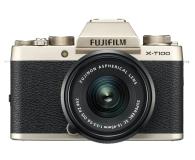 Fujifilm X-T100 + XC 15-45mm f/3.5-5.6 OIS PZ złoty - 438323 - zdjęcie 1