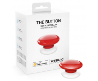 Fibaro The Button kontroler scen czerwony (HomeKit) - 437993 - zdjęcie 1