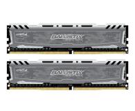 Pamięć RAM DDR4 Crucial 8GB 2666MHz Ballistix Sport Grey CL16 (2x4GB)