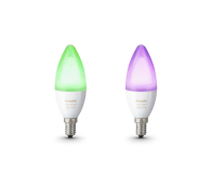 Philips Hue White and Color Ambiance (2szt. E14 6,5W) - 435804 - zdjęcie 1