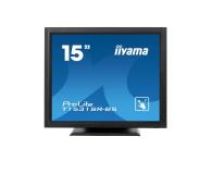 iiyama T1531SR-B5 dotykowy czarny  - 440234 - zdjęcie 1