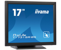 iiyama T1731SR-B5 dotykowy czarny - 440236 - zdjęcie 2