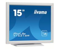iiyama T1531SR-W5 dotykowy biały - 440237 - zdjęcie 2