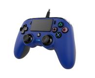Nacon PS4 Compact Controller Blue - 440787 - zdjęcie 3