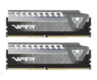 Patriot 16GB (2x8GB) 2666MHz CL16 Viper Elite Grey - 437594 - zdjęcie 1